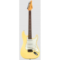 SUHR CLASSIC S RW VY GUITARRA ELECTRICA VINTAGE YELLOW