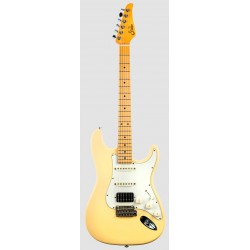 SUHR CLASSIC S ANTIQUE HSS MN VY GUITARRA ELECTRICA VINTAGE YELLOW