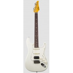 SUHR CLASSIC S ANTIQUE HSS RW OW GUITARRA ELECTRICA OLYMPIC WHITE