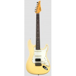 SUHR CLASSIC S ANTIQUE HSS RW VY GUITARRA ELECTRICA VINTAGE YELLOW