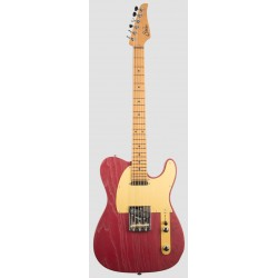 SUHR ANDY WOOD SIGNATURE MODERN T IR GUITARRA ELECTRICA IRON RED