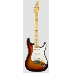 SUHR CLASSIC S ANTIQUE MN 3TS GUITARRA ELECTRICA 3 TONE BURST
