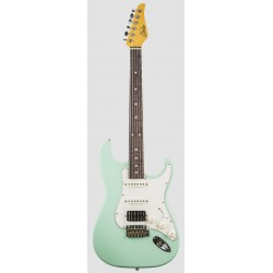 SUHR CLASSIC S ANTIQUE HSS RW SG GUITARRA ELECTRICA SURF GREEN