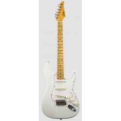 SUHR CLASSIC S ANTIQUE MN OW GUITARRA ELECTRICA OLYMPIC WHITE