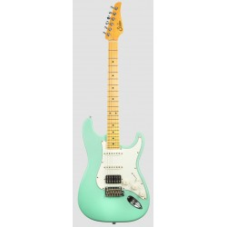 SUHR CLASSIC S ANTIQUE HSS MN SG GUITARRA ELECTRICA SURF GREEN