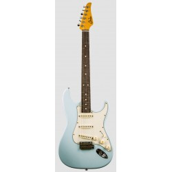 SUHR CLASSIC S ANTIQUE RW SB GUITARRA ELECTRICA SONIC BLUE