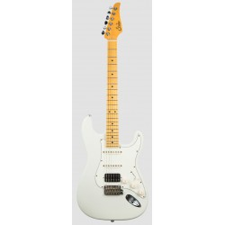 SUHR CLASSIC S ANTIQUE HSS MN OW GUITARRA ELECTRICA OLYMPIC WHITE