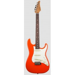 SUHR SCOTT HENDERSON CLASSIC FO GUITARRA ELECTRICA FIESTA ORANGE