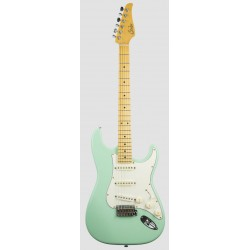 SUHR CLASSIC S ANTIQUE MN SG GUITARRA ELECTRICA SURF GREEN