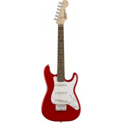 SQUIER MINI STRATOCASTER V2 IL GUITARRA ELECTRICA TORINO RED