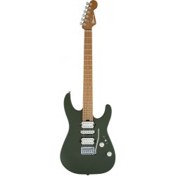 CHARVEL PRO MOD DK24 HSH 2PT CM GUITARRA ELECTRICA ARMY DRAB