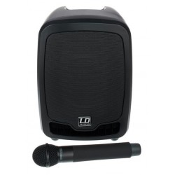 LD SYSTEMS ROADBOY 65 EQUIPO PA PORTATIL CON MICROFONO INALAMBRICO DE MANO Y LECTOR DE CD/MP3. DEMO.