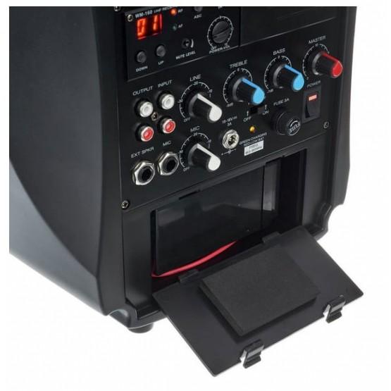 LD SYSTEMS ROADBOY 65 EQUIPO PA PORTATIL CON MICROFONO INALAMBRICO DE MANO Y LECTOR DE CD/MP3. DEMO.