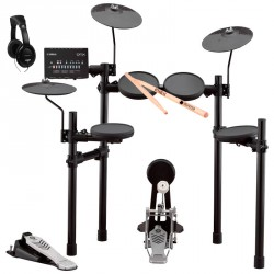 YAMAHA -PACK- DTX432K BATERIA ELECTRONICA + AURICULARES Y BAQUETAS