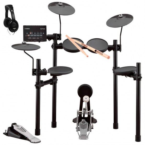 YAMAHA -PACK- DTX452K BATERIA ELECTRONICA + AURICULARES Y BAQUETAS