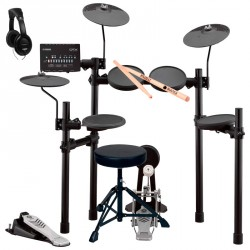 YAMAHA -PACK- DTX452K BATERIA ELECTRONICA + ASIENTO + AURICULARES Y BAQUETAS
