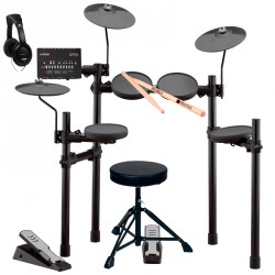 YAMAHA -PACK- DTX402K BATERIA ELECTRONICA + ASIENTO + AURICULARES Y BAQUETAS