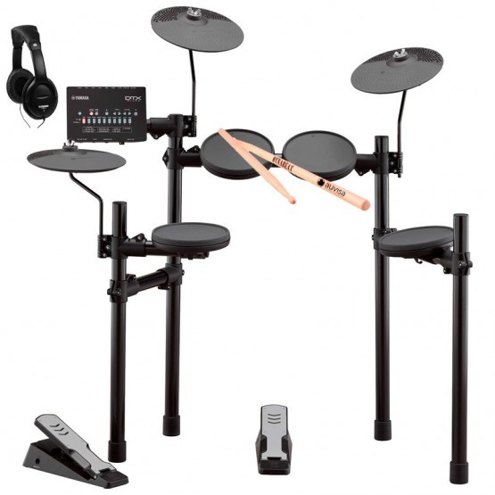 YAMAHA -PACK- DTX402K BATERIA ELECTRONICA + AURICULARES Y BAQUETAS
