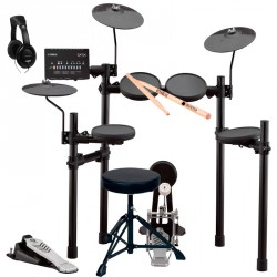 YAMAHA -PACK- DTX432K BATERIA ELECTRONICA + ASIENTO + AURICULARES Y BAQUETAS