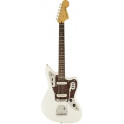 SQUIER VINTAGE MODIFIED JAGUAR IL GUITARRA ELECTRICA OLYMPIC WHITE.
