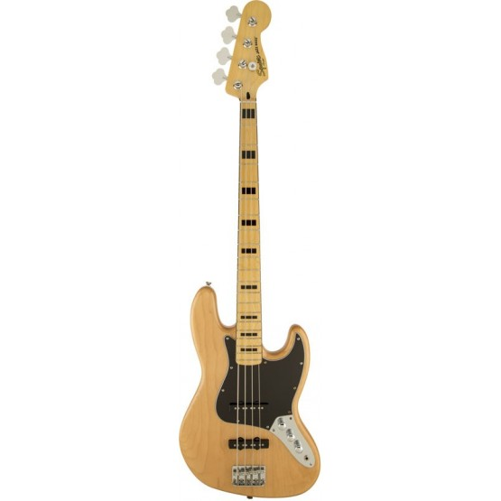 SQUIER VINTAGE MODIFIED JAZZ BASS 70S MN BAJO ELECTRICO NATURAL