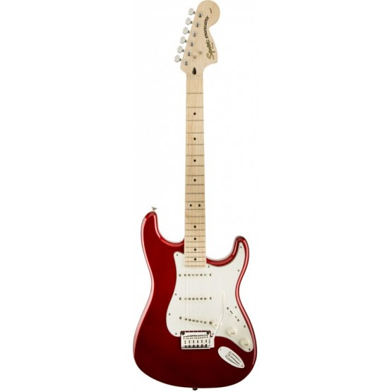 SQUIER STANDARD STRATOCASTER MN GUITARRA ELECTRICA CANDY APPLE RED