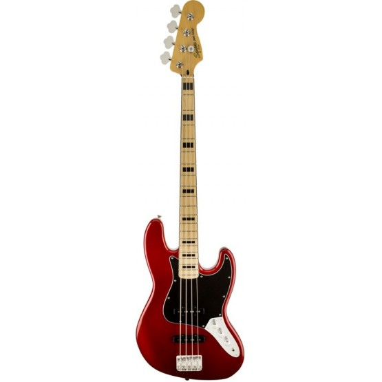 SQUIER VINTAGE MODIFIED JAZZ BASS 70S MN BAJO ELECTRICO CANDY APPLE RED