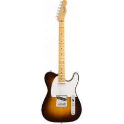 FENDER AMERICAN CUSTOM TELECASTER MAPLE GUITARRA ELECTRICA CHOCOLATE 2TS.