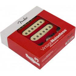 FENDER 0992115000 VINTAGE NOISELESS STRATOCASTER PICKUPS SET PASTILLAS GUITARRA