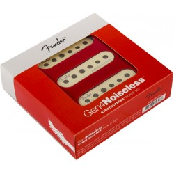 FENDER 0992260000 GEN4 NOISELESS STRATOCASTER PICKUPS SET PASTILLAS GUITARRA