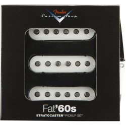 FENDER 0992265000 CUSTOM SHOP FAT 60S STRATOCASTER PICKUPS SET PASTILLAS GUITARRA