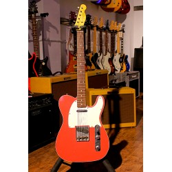 FENDER 62 TELECASTER CUSTOM SHOP GUITARRA ELECTRICA JOURNEYMAN RELIC FIESTA RED