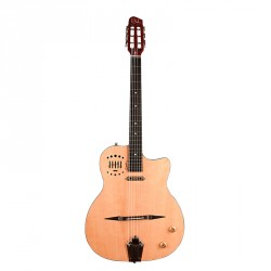 GODIN MULTIAC GYPSY JAZZ NATURAL HG GUITARRA ESPAÑOLA ELECTRIFICADA