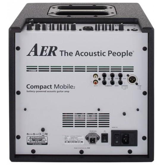AER COMPACT MOBILE II AMPLIFICADOR GUITARRA ACUSTICA