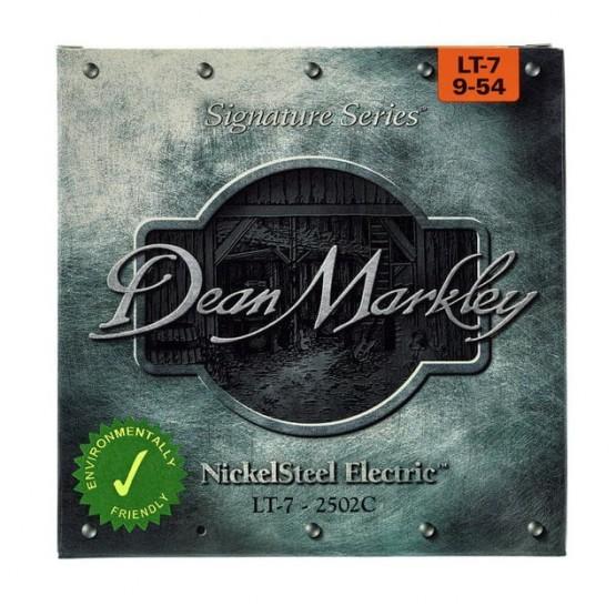 DEAN MARKLEY 2502C STRINGS LT 7 JUEGO 7 CUERDAS ELECTRICA 009-054.