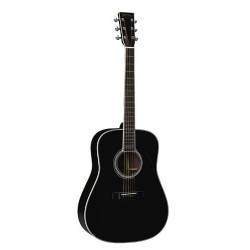 MARTIN D-35 CASH JOHNNY CASH SIGNATURE GUITARRA ACUSTICA DREADNOUGHT NEGRA