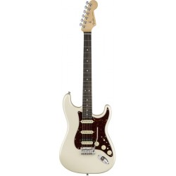 FENDER AMERICAN ELITE STRATOCASTER HSS SHAWBUCKER EB GUITARRA ELECTRICA OLYMPIC PEARL