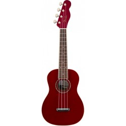 FENDER ZUMA CLASSIC WN UKELELE CONCIERTO CANDY APPLE RED