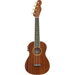 FENDER GRACE VANDERWAAL SIGNATURE WN UKELELE ELECTRIFICADO NATURAL