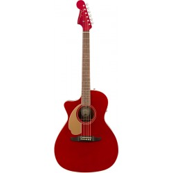 FENDER NEWPORTER PLAYER LH WN GUITARRA ELECTROACUSTICA ZURDOS CANDY APPLE RED