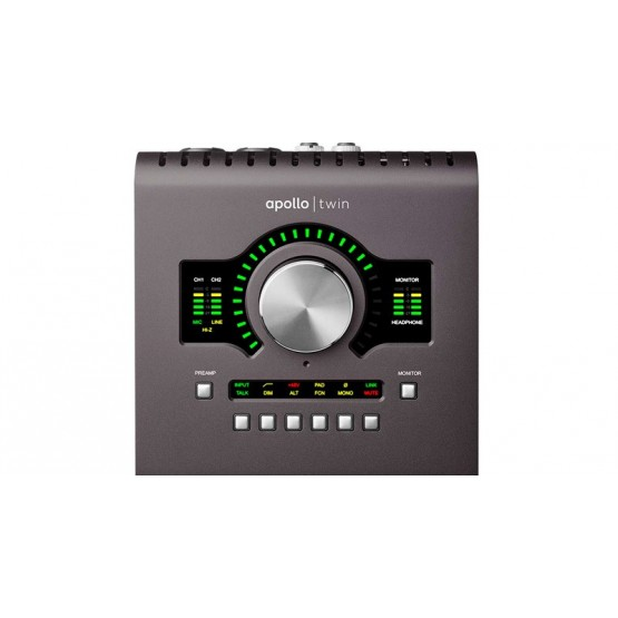 UNIVERSAL AUDIO APOLLO TWIN MKII QUAD INTERFAZ DE AUDIO