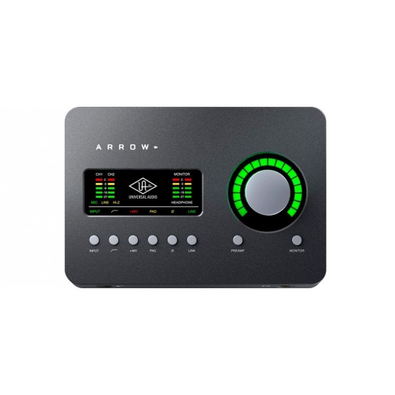 UNIVERSAL AUDIO ARROW INTERFAZ DE AUDIO