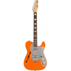 FENDER LIMITED EDITION TELE THINLINE SUPER DELUXE RW GUITARRA ELECTRICA ORANGE
