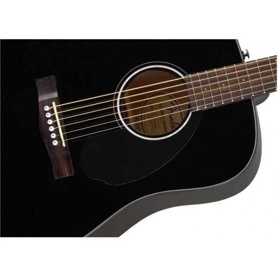 FENDER CD60S BLACK GUITARRA ACUSTICA DREADNOUGHT