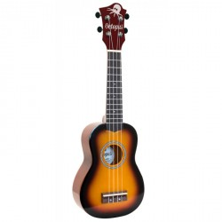 OCTOPUS UK200EX OVB UKELELE SOPRANO OLD VIOLIN BURST