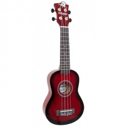 OCTOPUS UK200EX RDB UKELELE SOPRANO RED BURST