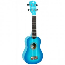 OCTOPUS UK200EX SBB UKELELE SOPRANO SKY BLUE BURST