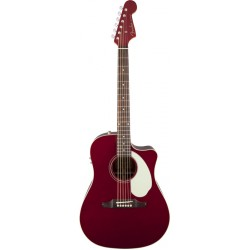 FENDER SONORAN SCE GUITARRA ELECTROACUSTICA CANDY APPLE RED.