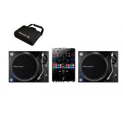 PIONEER DJ PLX1000DJMS-9 PACK PLATOS Y MESA DE MEZCLAS