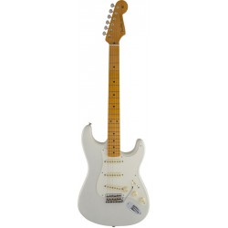 FENDER ERIC JOHNSON STRATOCASTER MAPLE FRETBOARD WHITE BLONDE